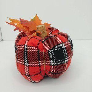 Stuffed Fabric Pumpkin